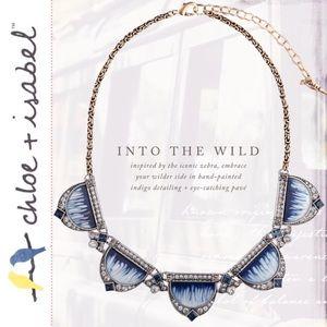 🆕 Serengeti Collar Necklace c+i N565BLGS